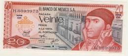 BILLET # MEXIQUE # 20 PESOS # VEINTE PESOS # 1976 # MORELOS - Mexico