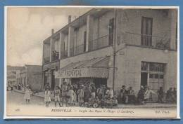 TUNISIE --  FERRYVILLE -- Angle Des Rues V. Hugo Et..... - Túnez