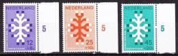 1969 Kankerbestrijding  Postfrisse Serie  NVPH 927 / 929 - 1949-1980 (Juliana)