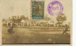 Cucuta Football Stadium Real Photo Maximum Baranquilla Foot Stamp Olimpiada To Cuba 1935 - Colombie