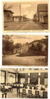 ELSENBORN - MILITARIA  - 5 CPA -3 ECRITES ANNEE 1920 - 2 VIERGE - Elsenborn (camp)