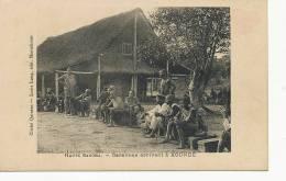 Haute Sangha Caravane Arrivant A Koundé  Cliché Quinton Edit Louis Lang Montelimar - Central African Republic