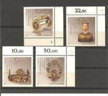 DSP2296/ BRDMi.Nr.1383-86**/ (1988) Schmiedekunst, Randsatz - BRD