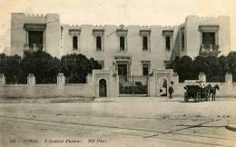 Tunis Institut Pasteur 318 ND Phot Carte Animée Caleche - Tunisia