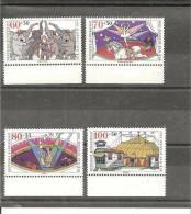 DSP2298/ BRDMi.nr.1411-14**/ (1989) Zirkus, Randsatz - BRD