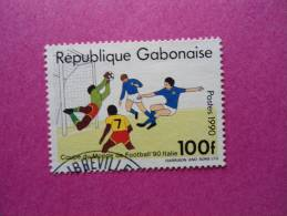 Gabon Oblitéré Scott N° 694A ( Lot 82 ) - Gabon