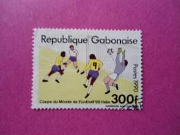 Gabon Oblitéré Scott N° 694C ( Lot 84 ) - Gabon