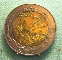 SAINT MARIN SAN MARINO BIMETAL 500 LIRE RARE 2001 - Saint-Marin