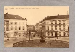 """37339     Belgio,  Courtrai -  Place  Des  Eperons D""""Or  Et  Rue  Du  Chemin  De  Fer,  NV - Belgio"""