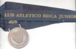 MEDALLA DEL XENTENARIO CENTENARIO BOCA JUNIORS 1905-2005 FUTBOL FOOTBALL FUTEBOL BALOMPIE BOSTEROS - Monetary /of Necessity