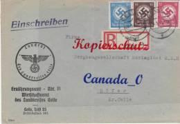 B  4  --   Dienstbrief V. Ernährungsamt Landkreis Cellw N. Bergbauges. Mariaglück In Höfer  28.5.1943 - Unclassified