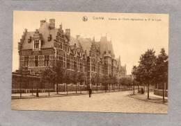 """37340     Belgio,  Courtrai -  Caserne  De L""""ecole  Regimentaire  Du  2e  De Ligne,  Nv - Belgio"""