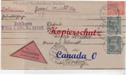 B  4  --   Dienst-Faltbrief   - NN  - V. Gerichtskasse Daaden  N Herdorf 12.4.1921 - Covers & Documents