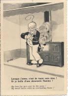 6721 - Daix Le Professeur Nimbus Brule D´amour Dans Sa Cuisine (trou De Punaise) - Other Illustrators