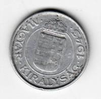 Pièce - Hongrie - 2 Pengo - 1943 - Hongrie