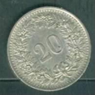 SUISSE . 20 RAPPEN 1960  -  Laura8609 - Suisse