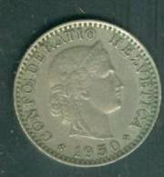 Suisse  20 RAPPEN 1950  -  Laura8709 - Suisse