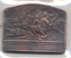 INAUGURACION DEL MONUMENTO A LOS EJERCITOS DE LA INDEPENDENCIA AÑO 1910 PRESIDENTE JOSE FIGUEROA ALCORTA - Royal / Of Nobility