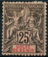 Benin (1893) N 27 * (charniere) - Unclassified