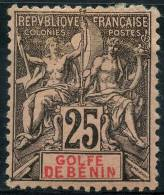 Benin (1893) N 27 * (charniere)