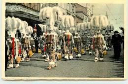 LA LOUVIERE  -Carnaval De La Louvière, Groupe De Gilles. - La Louvière