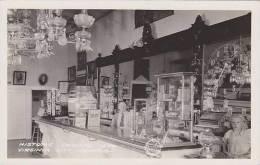 Nevada Virginia City Historic Crystal Bar Real Photo RPPC