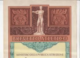 C0991 - DIPLOMA - BREVETTO ATLETICO - ISTITUTO SOLFERINO - MILANO 1951 - Atletica