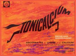"Buvard  ""  Tonicalcium  "" Laboratoires Bouchara - Cheval - Produits Pharmaceutiques"