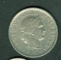 Suisse 20 Rappen 1969  - Laura9101 - Suiza