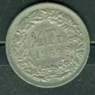 Suisse 1/2 Franc 1969 - Laura9105 - Suisse