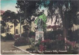 Potenza - Francavilla sul Sinni (Potenza) m. 421 - Mon. ai Caduti e Villa Comunale