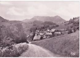 73 ENTREMONT LE VIEUX , CPSM , Entrée Du Village Et Le Mont Joigny - Autres Communes