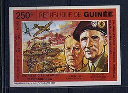 Lot 86 - B 11 - Guinée ** N° 910D ND - Bataille D'El Alamein - Guinée (1958-...)