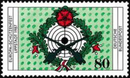 RFT  :  Europei Di Tiro A Segno     20.08.1987  - Michel N° 1330  NUOVO - Tiro (armi)