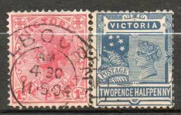 AUSTRALIE (Victoria)   1901-04 N°128-131 - Used Stamps
