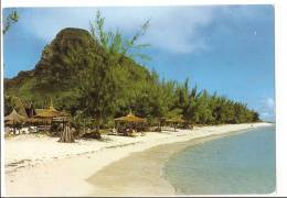 Cpm Ile Maurice - Mauritus - Plage Le Morne Ancien Terroir Des Esclaves Noirs Venant De L'afrique - Mauritius
