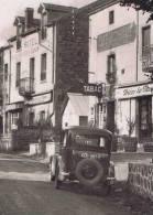 63   LA FONT DE L'ARBE HOTEL CAFE TABAC UNE VOITURE - France
