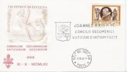 Fdc Capitolium (?): CONCILIO ECUMENICO VATICANO II; No Viaggiata - FDC