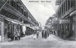 Ägypten, PORT SAID, Mainstreet, 191?, Verlag: The Cairo Postcard Trust - Cairo - Port Said