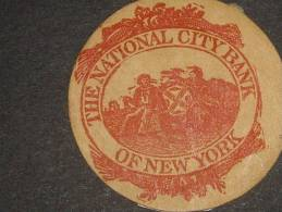 U.S.A  The  National City Bank  Of New York - 1845-47 Emissions Provisionnelles