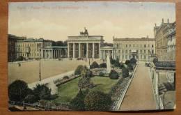 Allemagne - Germany - Berlin - 3410 - Pariser Platz Mit  Brandenburger Tour - Porta Di Brandeburgo