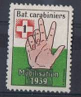 FP 385 - Infanterie - Bat. Carabiniers 1 Neuf - Labels