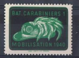 FP 386 - Infanterie - Bat. Carabiniers 1 Neuf - Labels