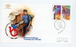 Indonésie-Handisport-1999-fdc - Handisport