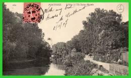 DEUX C.P.A-PONTOISE-Le Bord De L'Oise,chemin De La Pelouse- L'Ile St.Germain -(rectos Versos) - Pontoise
