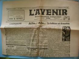 L´AVENIR GUISE AISNE NUMERO 86 DIMANCHE 5 AOUT 1945 - Autres