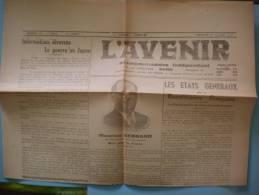 L´AVENIR GUISE AISNE NUMERO 76 DIMANCHE 1er JUILLET 1945 - Autres