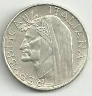 M023/24 £ 500 DANTE 1965 - 500 Lire