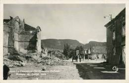 LA CHAPELLE EN VERCORS RUINES DE JUILLET 1944 GUERRE DRÔME 26 - Francia