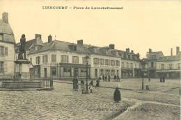 LIANCOURT PLACE DE LAROCHEFOUCAUD CAFE HOTEL RESTAURANT COMMERCE OISE 60 - Liancourt